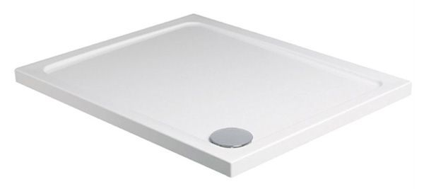 Just Trays Fusion shower tray 1000 x 1000mm White