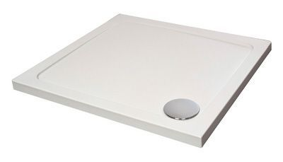 Just Trays Fusion shower tray 1600 x 800mm White