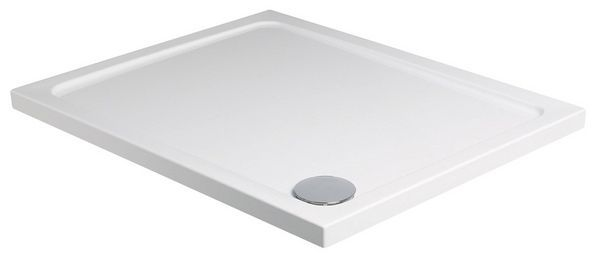 Just Trays Fusion shower tray 900 x 800mm White
