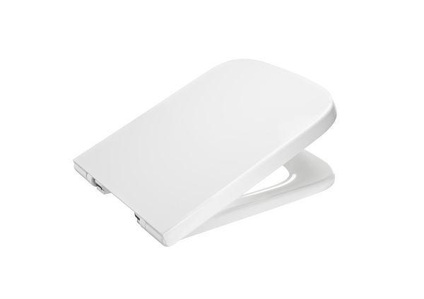 Roca Meridian-N soft close toilet seat White
