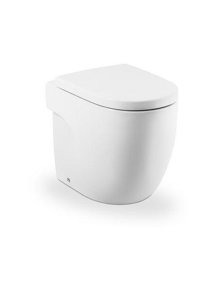 Roca Meridian-N back to wall toilet pan White