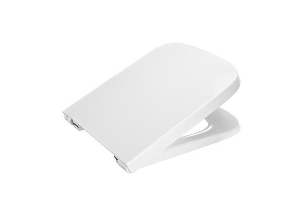 Roca Meridian-N compact soft close toilet seat White
