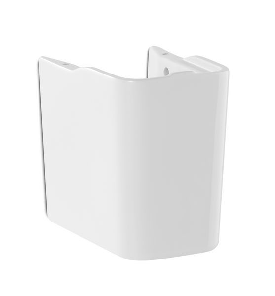 Roca The Gap semi-pedestal basin 350 x 400mm White
