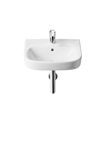 Roca Debba one tap hole basin 450mm White