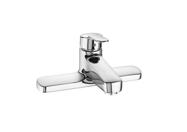Roca Victoria deck mounted bath filler tap Chrome Plated