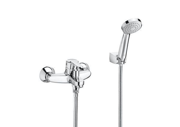 Roca Victoria deck mounted bath shower mixer tap Chrome Plated