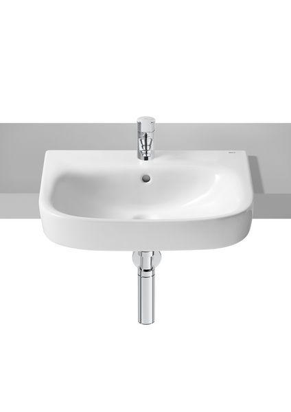 Roca Debba one tap hole semi recessed basin 520mm x 400mm