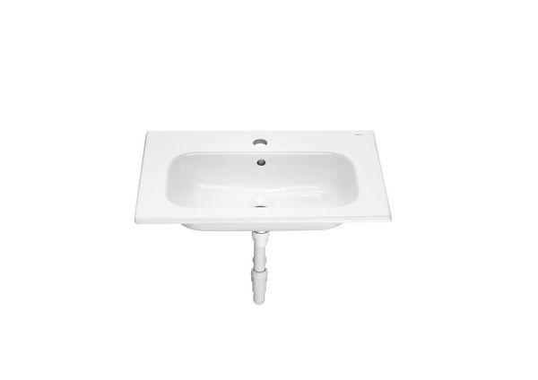 Roca Debba 1 tap hole furniture basin 600mm White