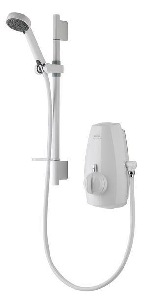 Aqualisa Aquastream thermostatic integrated pump system White