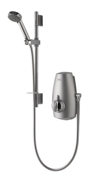 Aqualisa Aquastream thermostatic intergrated pump system Chrome Plated