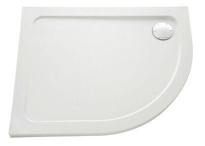 Mira Flight Low left handed quadrant shower tray no upstands 1200 x 900mm