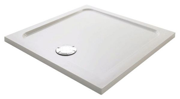Mira Flight Low shower tray with 4 upstands 900 x 900mm