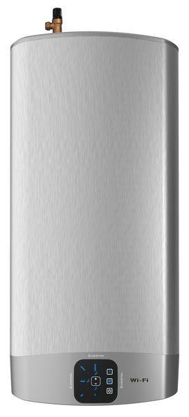 Ariston Velis Evo Wifi 45 storage wter heater Brushed Metal