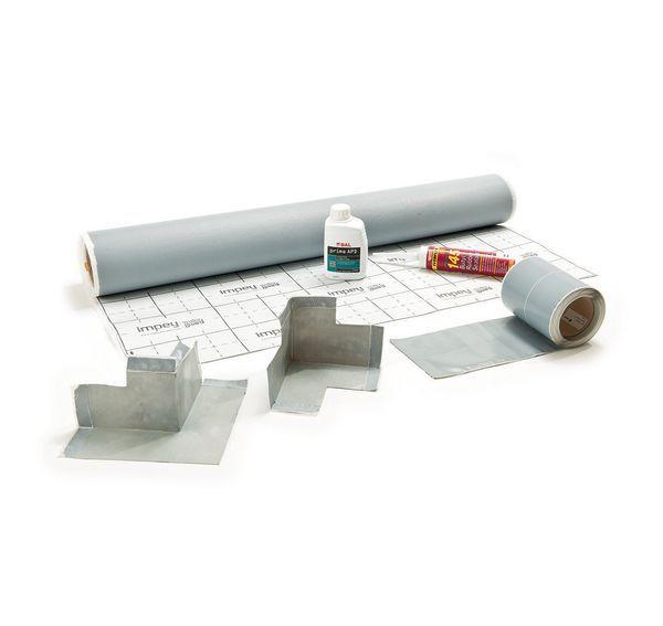 Coram Impey WaterGuard square floor membrane kit