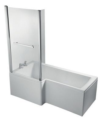 Ideal Standard Concept Space E050401 shower bath front panel 1700mm White