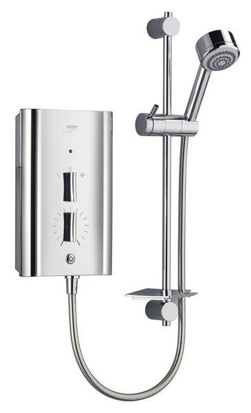 Mira Escape thermostatic shower 9.8kw Chrome Plated