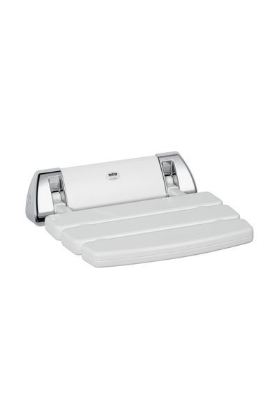 Mira folding shower seat White/Chrome Plated