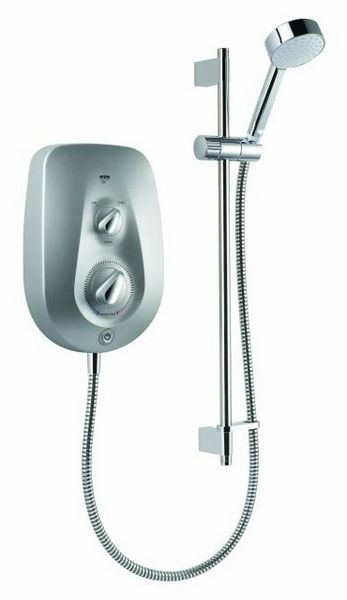 Mira Vie electric shower with clearscale 9.5kW Chrome