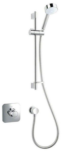 Mira Adept built in variable eco mixer shower and kit