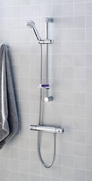 Ideal Standard Alto A4741AA ecotherm bar valve and kit Chrome Plated