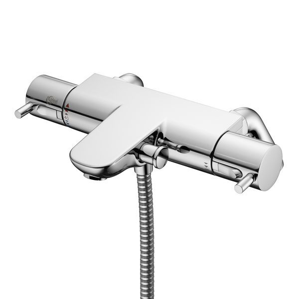 Ideal Standard Alto A5638 mounted bath shower mixer deck with lever handles (0)