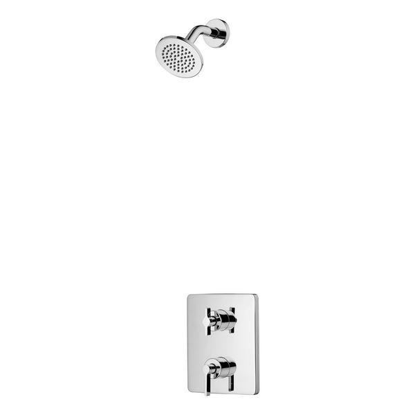 Ideal Standard S1 rain shower and angle arm 100mm