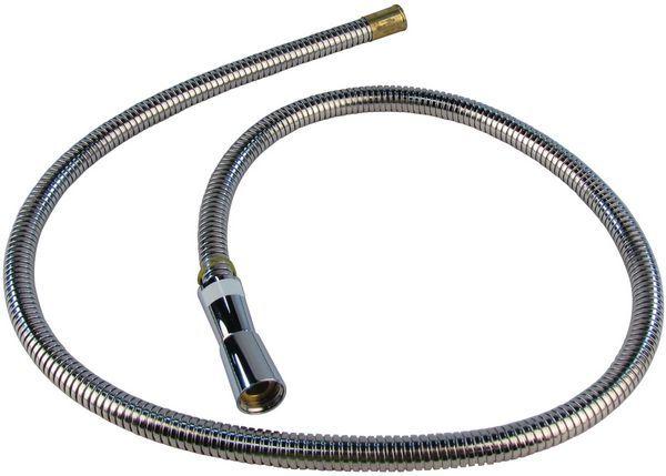 Mira 450.01 hose 1.25m chrome
