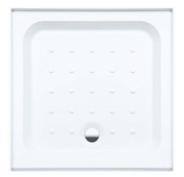 Coram Waterguard 4 upstands tray 760mm White