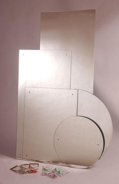 Hib Drilled Mirror 4Mm Float Glass 60 X 45Cm