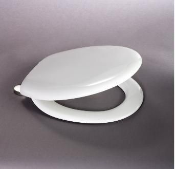 Carrara & Matta Millie Inox Top Fixingwc Seat Metal Hinge White