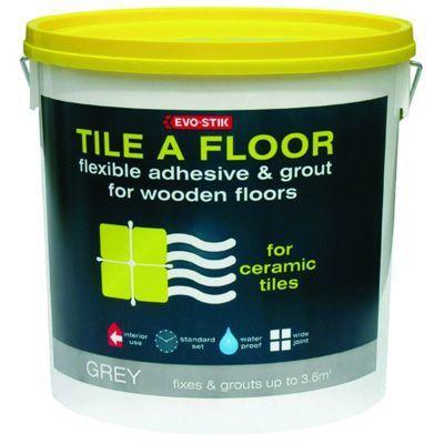 Tile A Floor Flexible Adhesive & Grout L