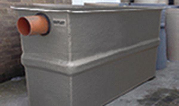Washdown Separator Dbl Chamber 2000Ltr