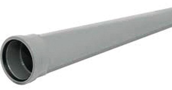 Center Single Socket Soil Pipe 110 Mm 3 M Grey
