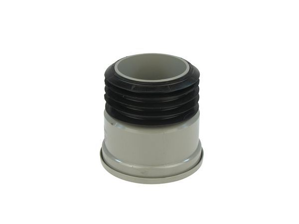 Center Soil To Drain Adaptor 110 Mm Grey