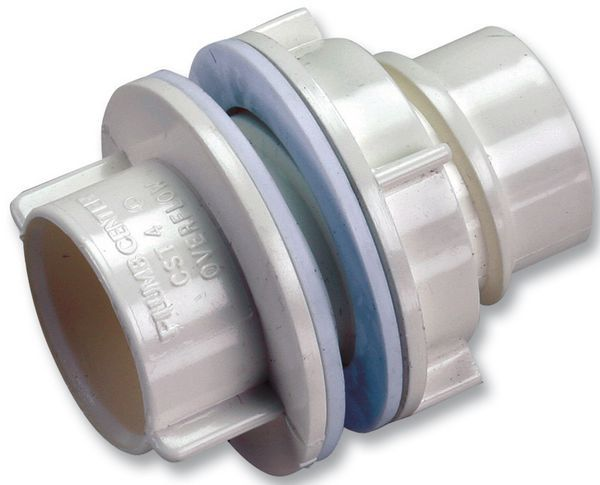 Center Cst4 Straight Tank Connector 0.75