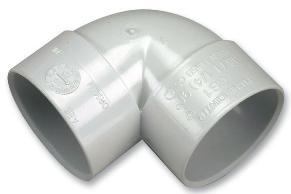 Center Cbs1:W Knuckle Bend 90 Deg 1.1/4