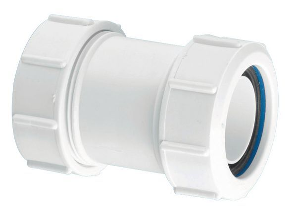 Mcalpine S28m Straight Multifit Connector 1.25