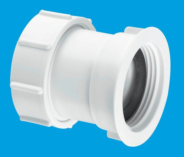 Mcalpine S29 Straight Connector 1.25