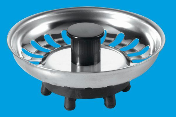 Mcalpine Bsktop Strainer Top/Plug Only
