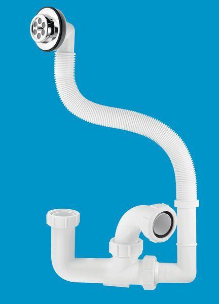Mcalpine Fj10 Seal Bath Trap & Overflow 1.5 X 75 Mm