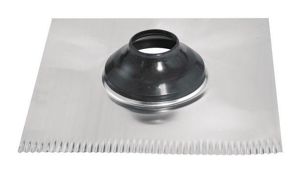 Macflash Roof Flashing 4 Pipe 18X18 Rs1