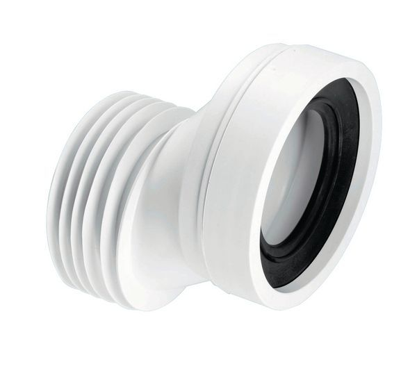 Mcalpine Wc-Con4a Offset Wc Connector 40 Mm