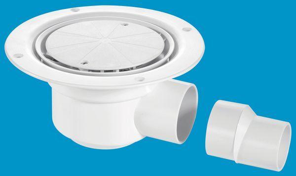 Mcalpine Tsg50wh Shower Gully 1.25 X 50 Mm
