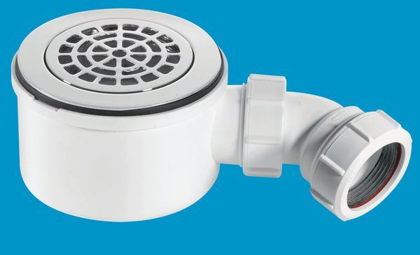 Shower Trap 90Mmx50mm Cp St90cpb-P-70