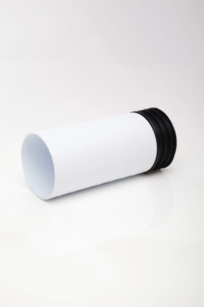 Polypipe Kwickfit Extension Piece 4 White Pc11