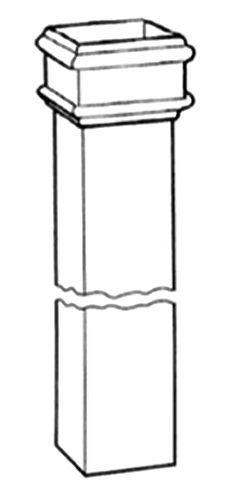 75X75mm Pln Square Pipe 1829Mm