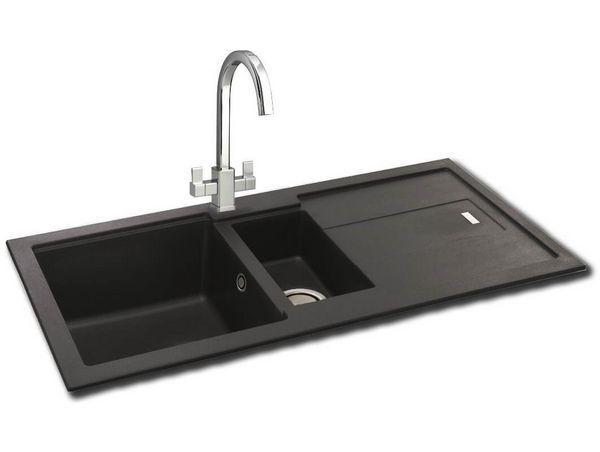 Bali 150 Granite Sink Jet Black