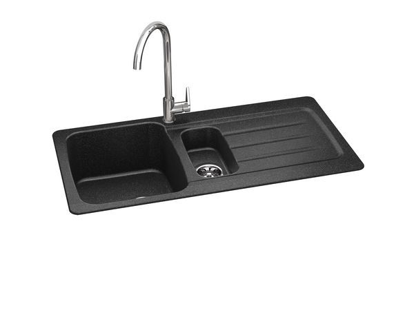 Carron Phx Columba 150 Aw Inset Smc Sink