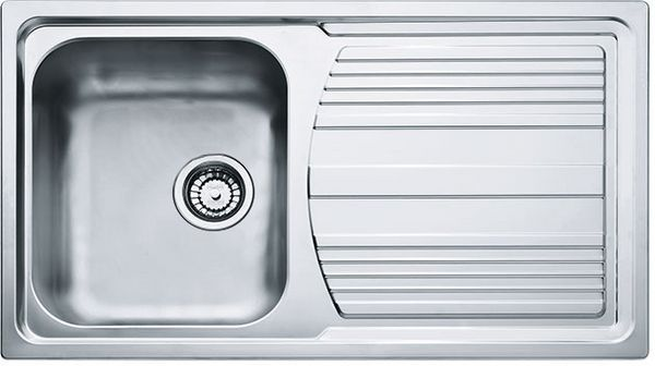 Logica 100 Inset Stainless Steel Sink