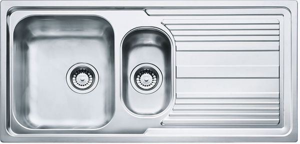 Logica 150 Inset Stainless Steel Sink